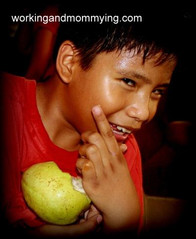 boy after circumcision